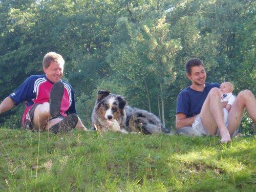 Hund + Nachwuchs
